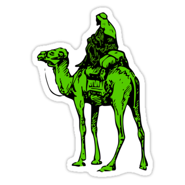 Silk Road Sticker