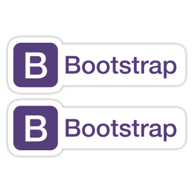 Bootstrap ×2 Sticker