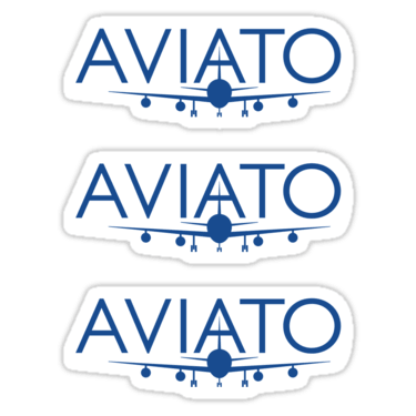Aviato ×3 Sticker