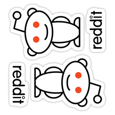 Reddit ×2 Sticker