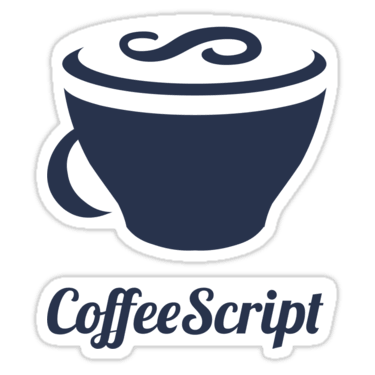 CoffeeScript ×2 Sticker