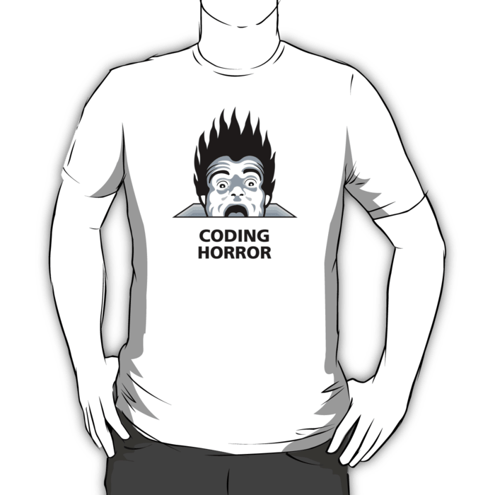 Coding Horror T-shirt