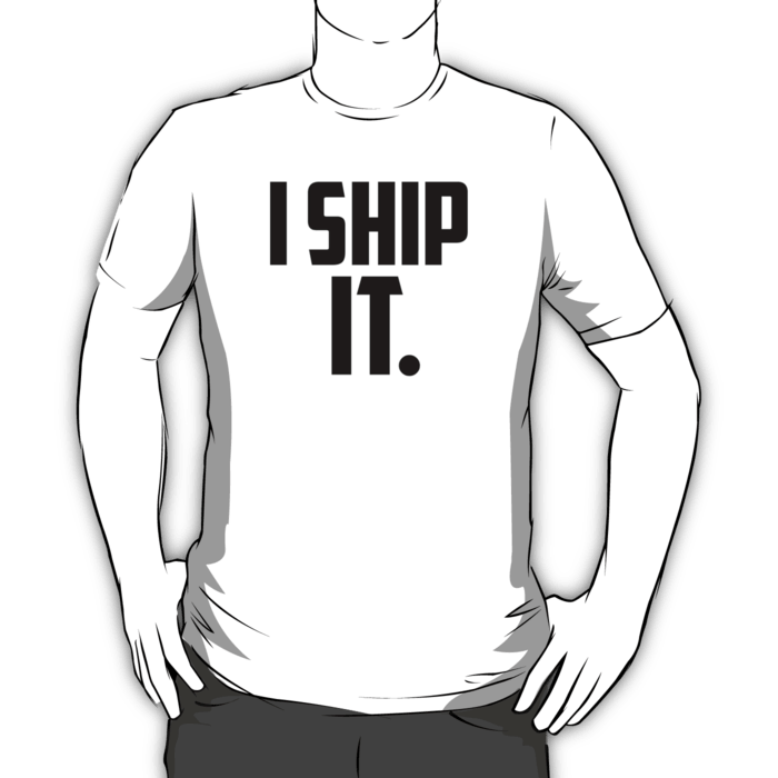 I Ship It. T-shirt
