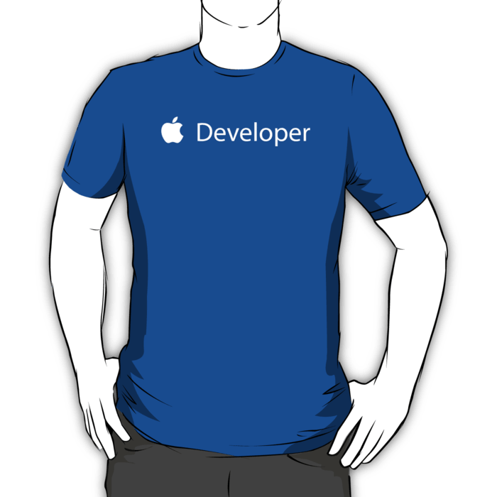 iOS Developer T-shirt