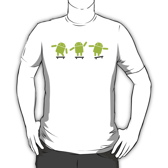 Android Skating T-shirt