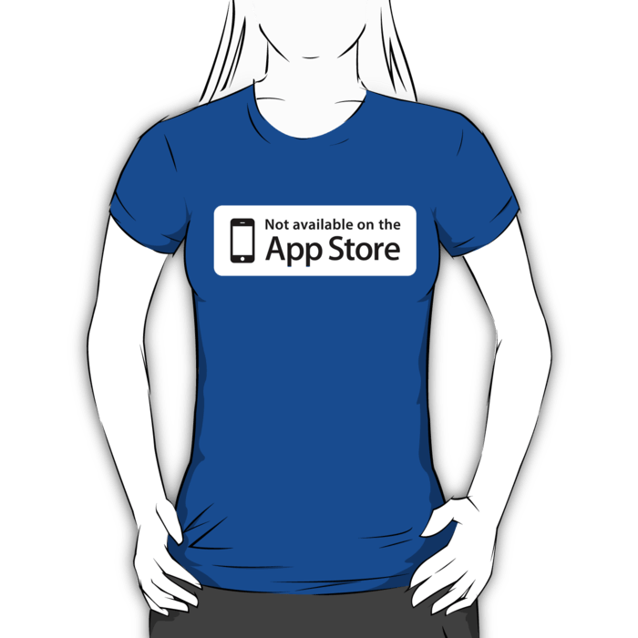 Not Available On The App Store Stickers And Tshirts DevStickers - Not available on the app store