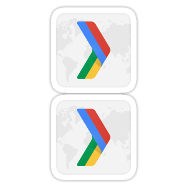 Google Developer Group ×2 Sticker