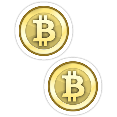 Bitcoin Gold Coin ×2 Sticker