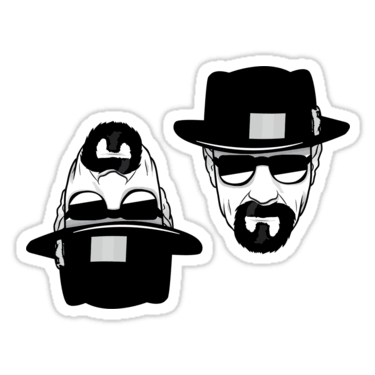 Heisenberg ×2 Sticker