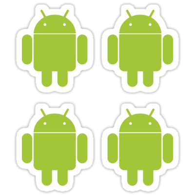 Android ×4 Sticker