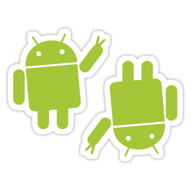 Android ×2 Sticker