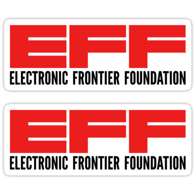 EFF ×2 Sticker