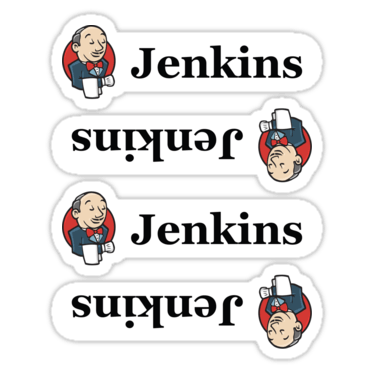 Jenkins ×3 Sticker