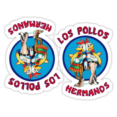 Los Pollos Hermanos ×2 Sticker