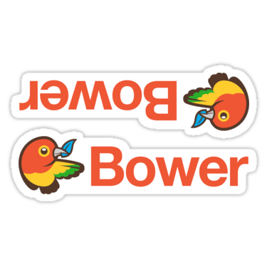 Bower ×2 Sticker