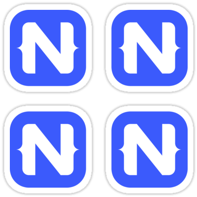 NativeScript ×4 Sticker