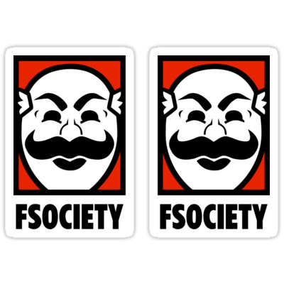 FSociety ×2 Sticker