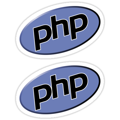 PHP ×2 Sticker
